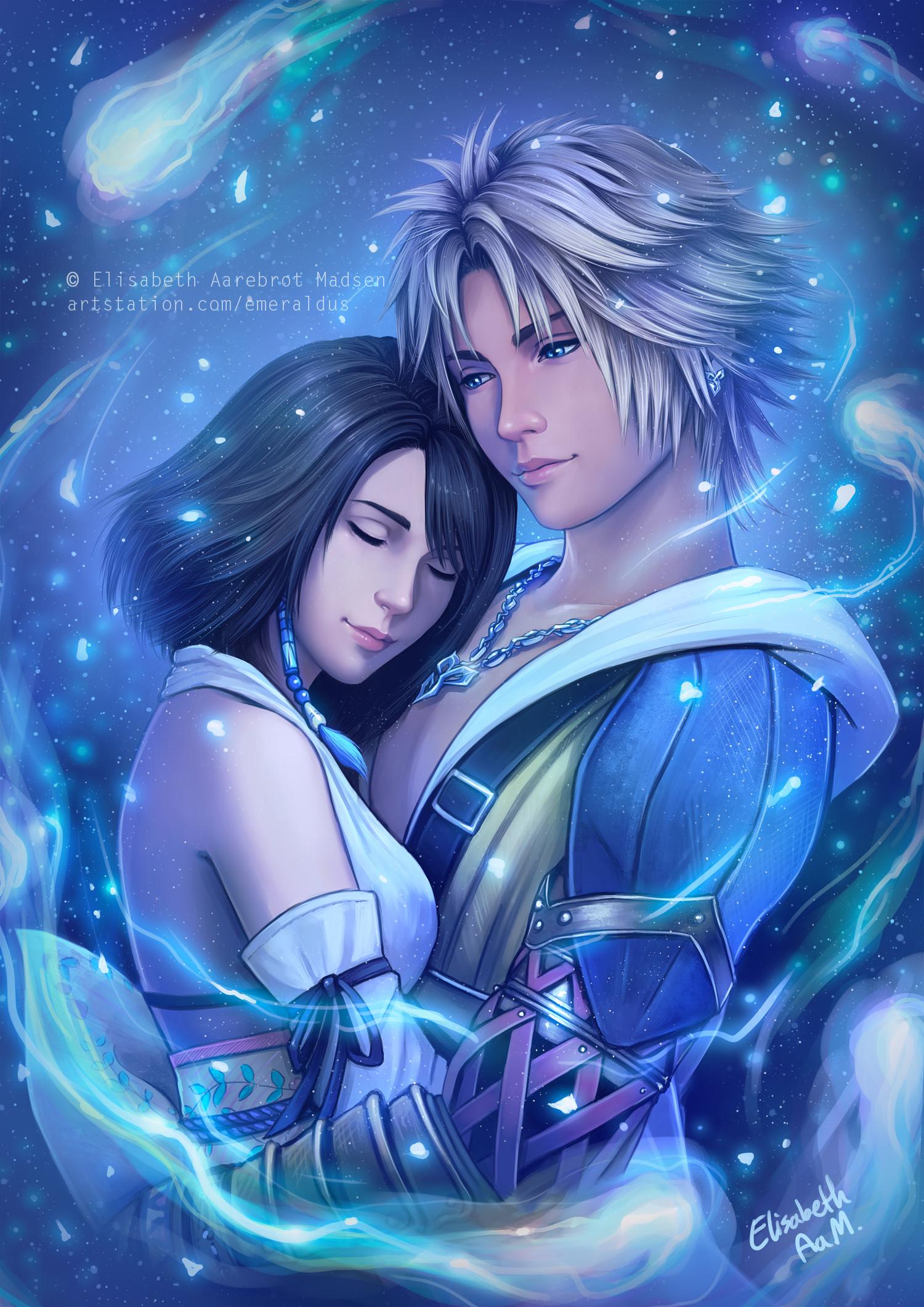 Tidus And Yuna Final Fantasy Series Wallpapers Desktop