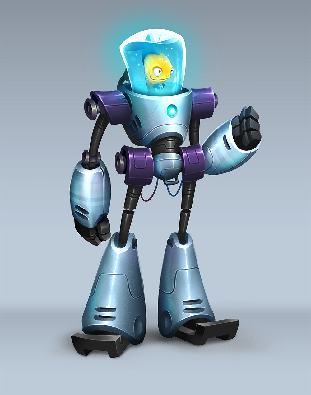 Josh bruce bionic robofish