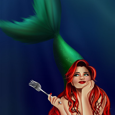 Danni mcgowan little mermaid web