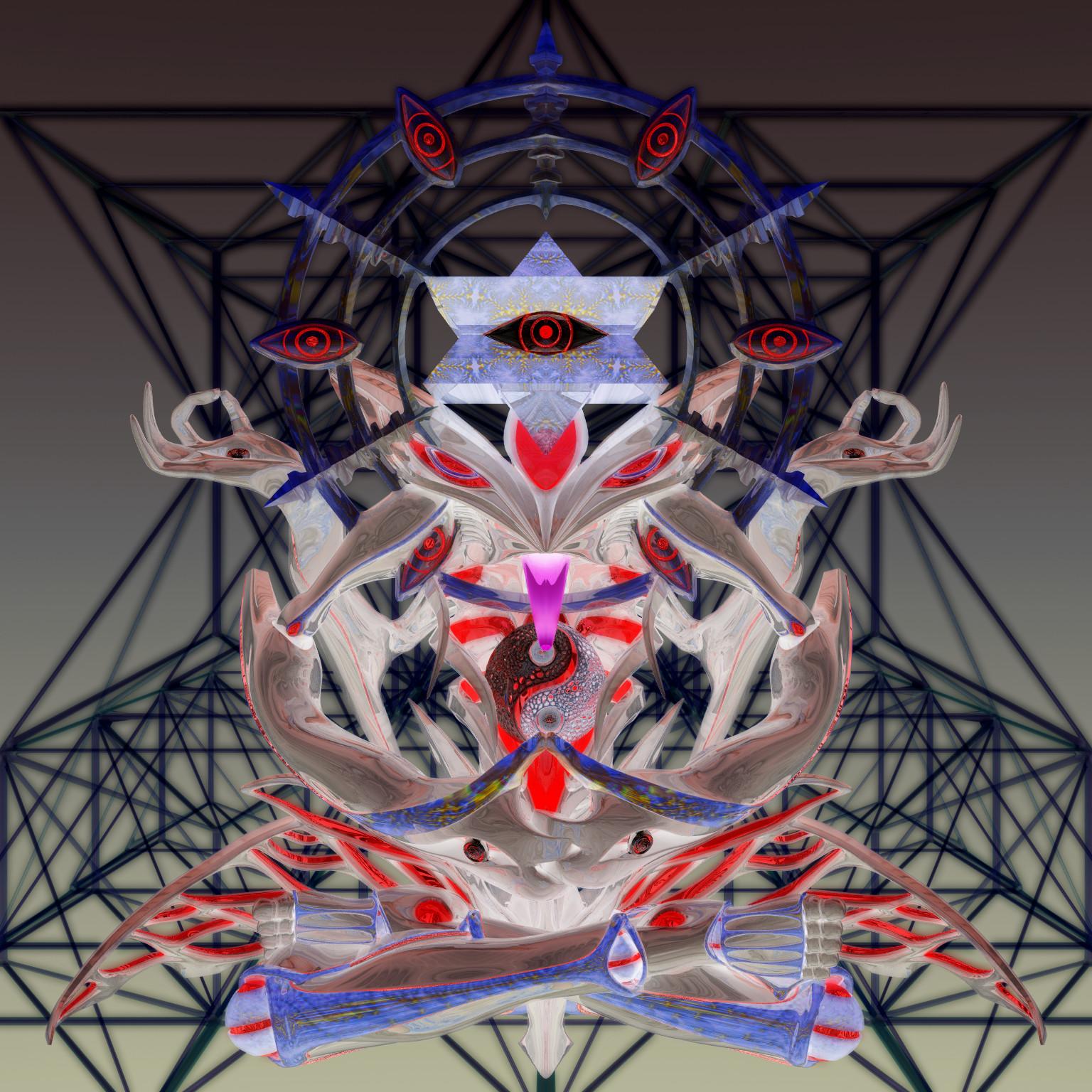 celestial psicodélico negativo