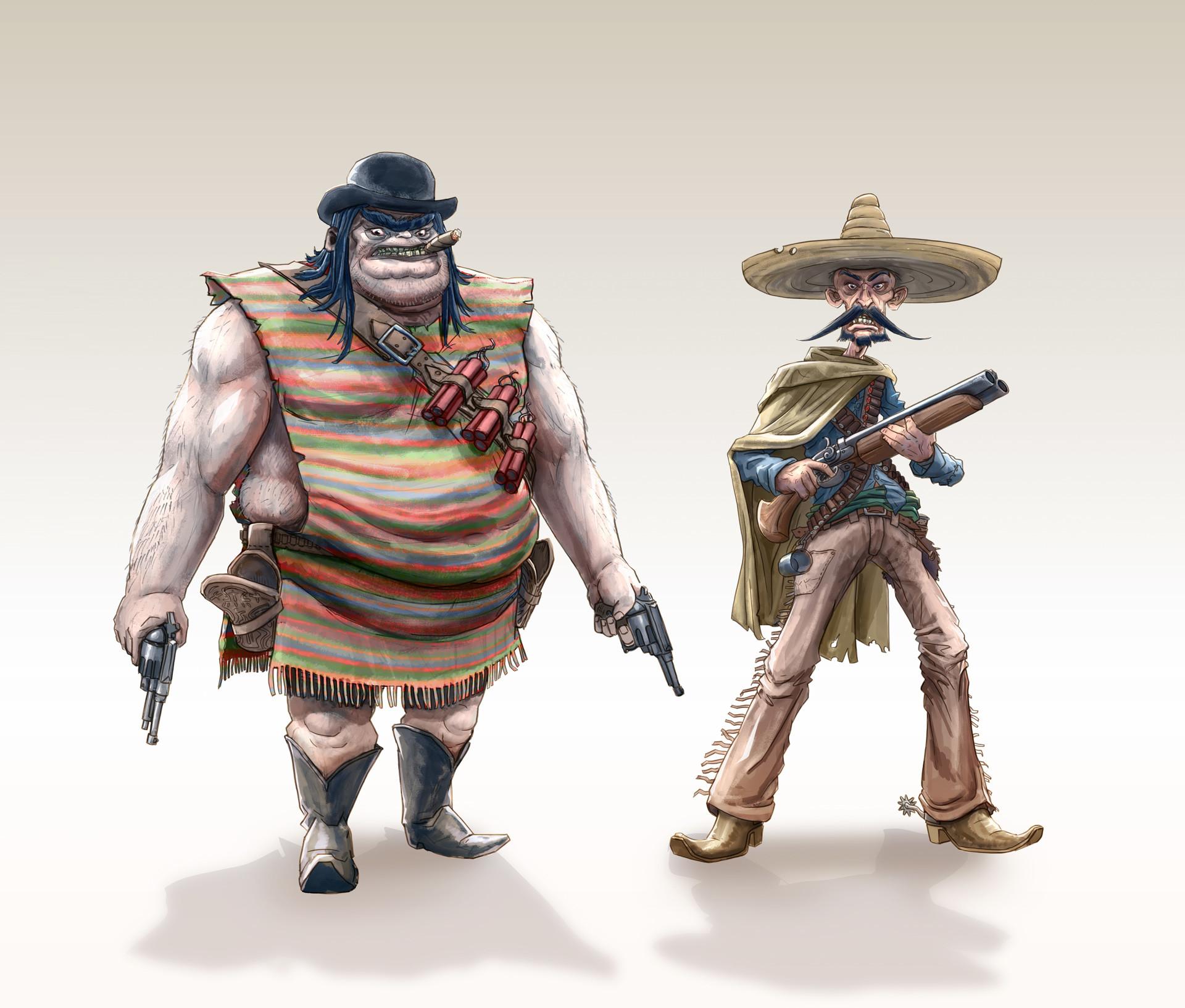 Dirk wachsmuth wild west challenge outlaws bydirkwachsmuth