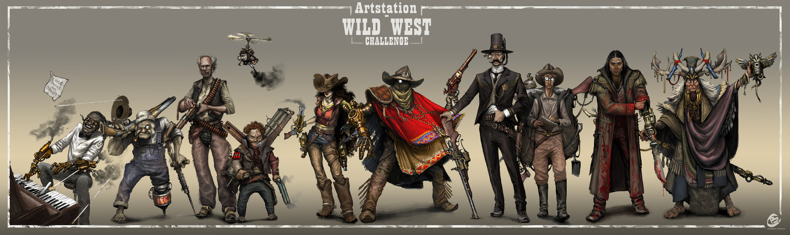 Wild West Challenge - character submission