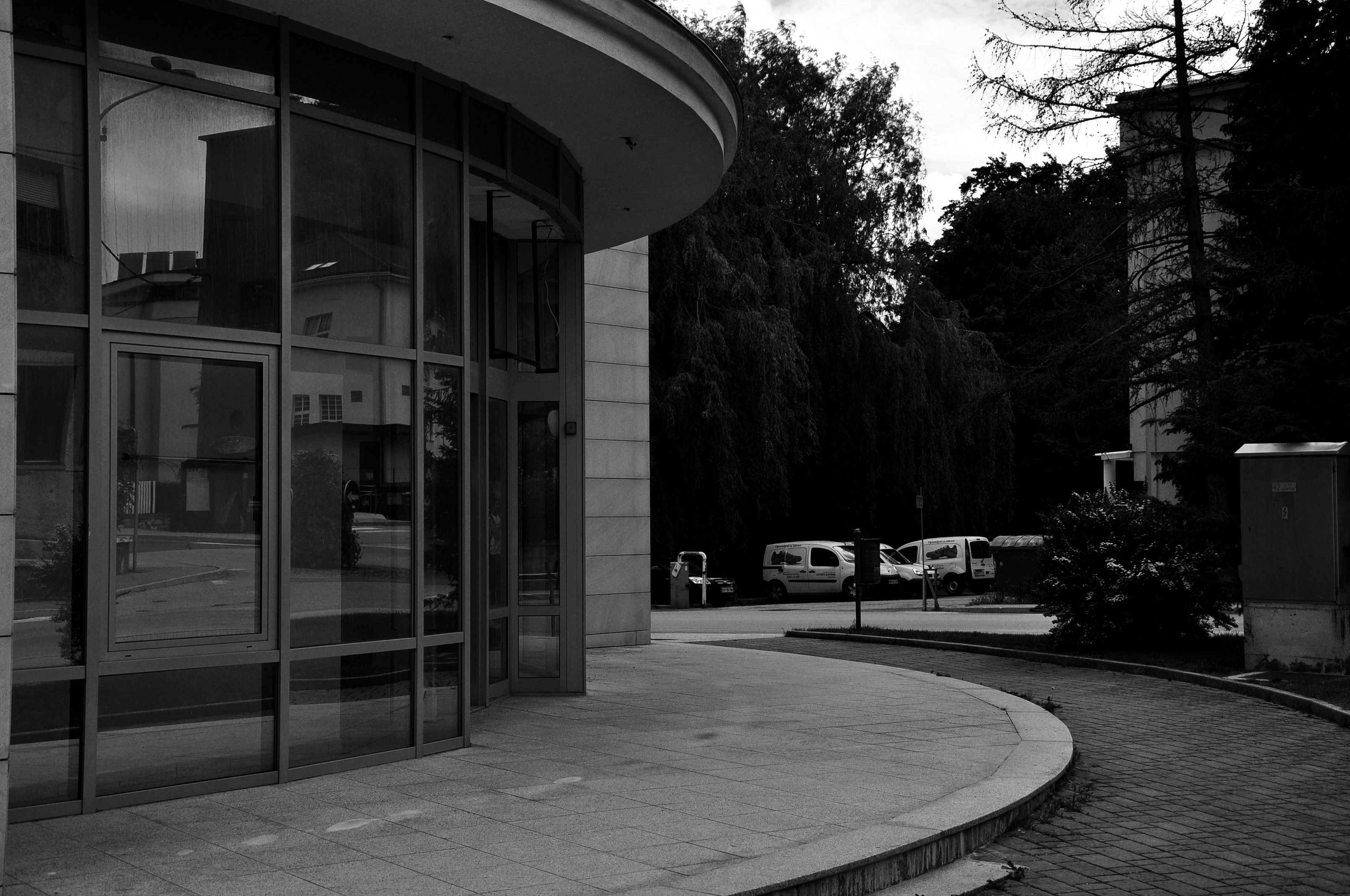Urban black & white photography.