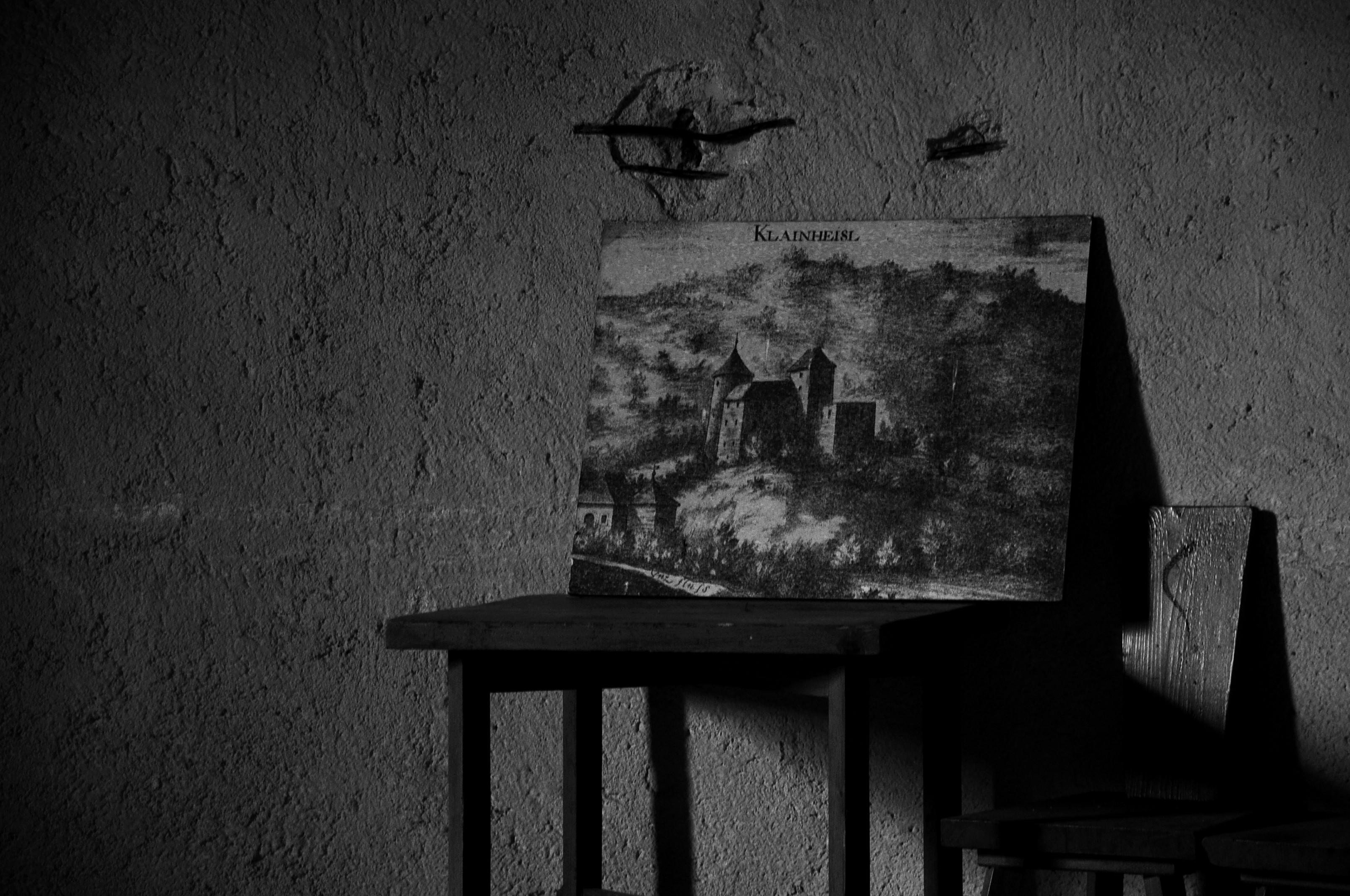 Still life black & white photography.