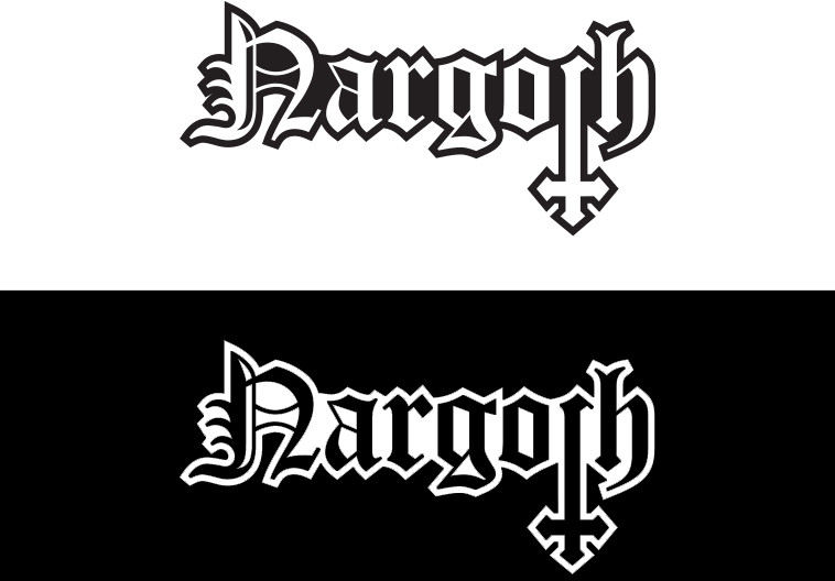 Logo design that I made for progressive death metal band Nargoth.
