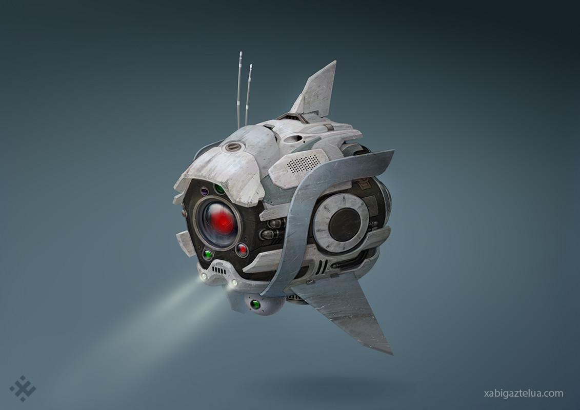 Xabi gaztelua scout drone low