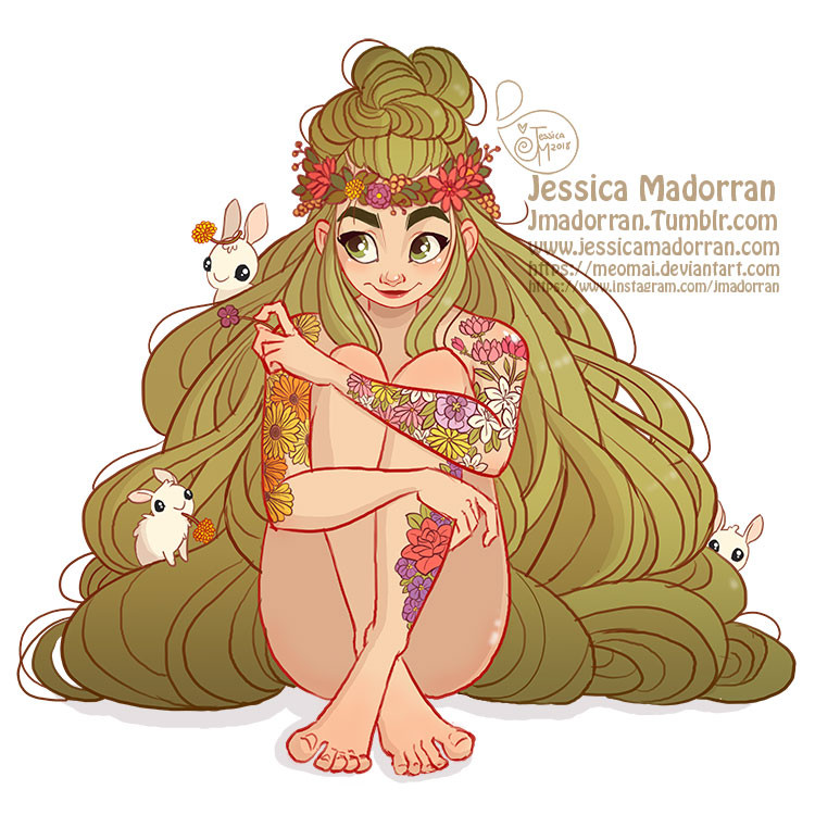 Jessica madorran character design earth bunny 2018 artstation