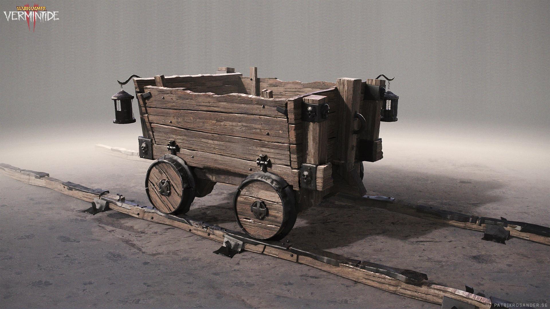 Patrik rosander mines minecart