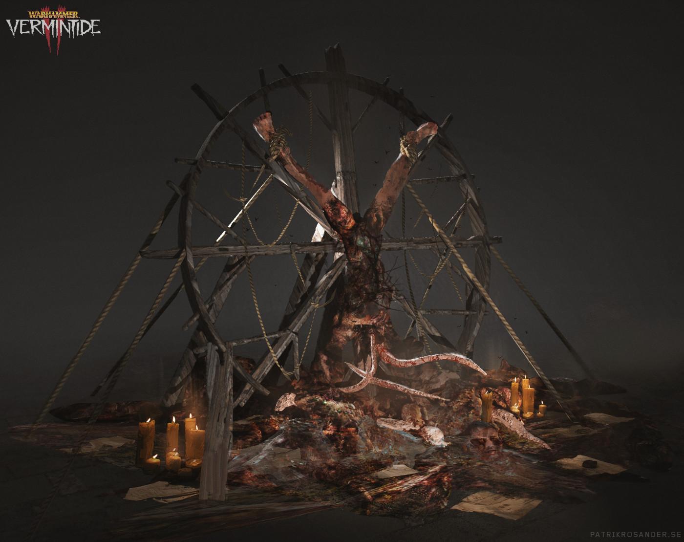 Patrik rosander convocation of decay catacombs ceremony 02