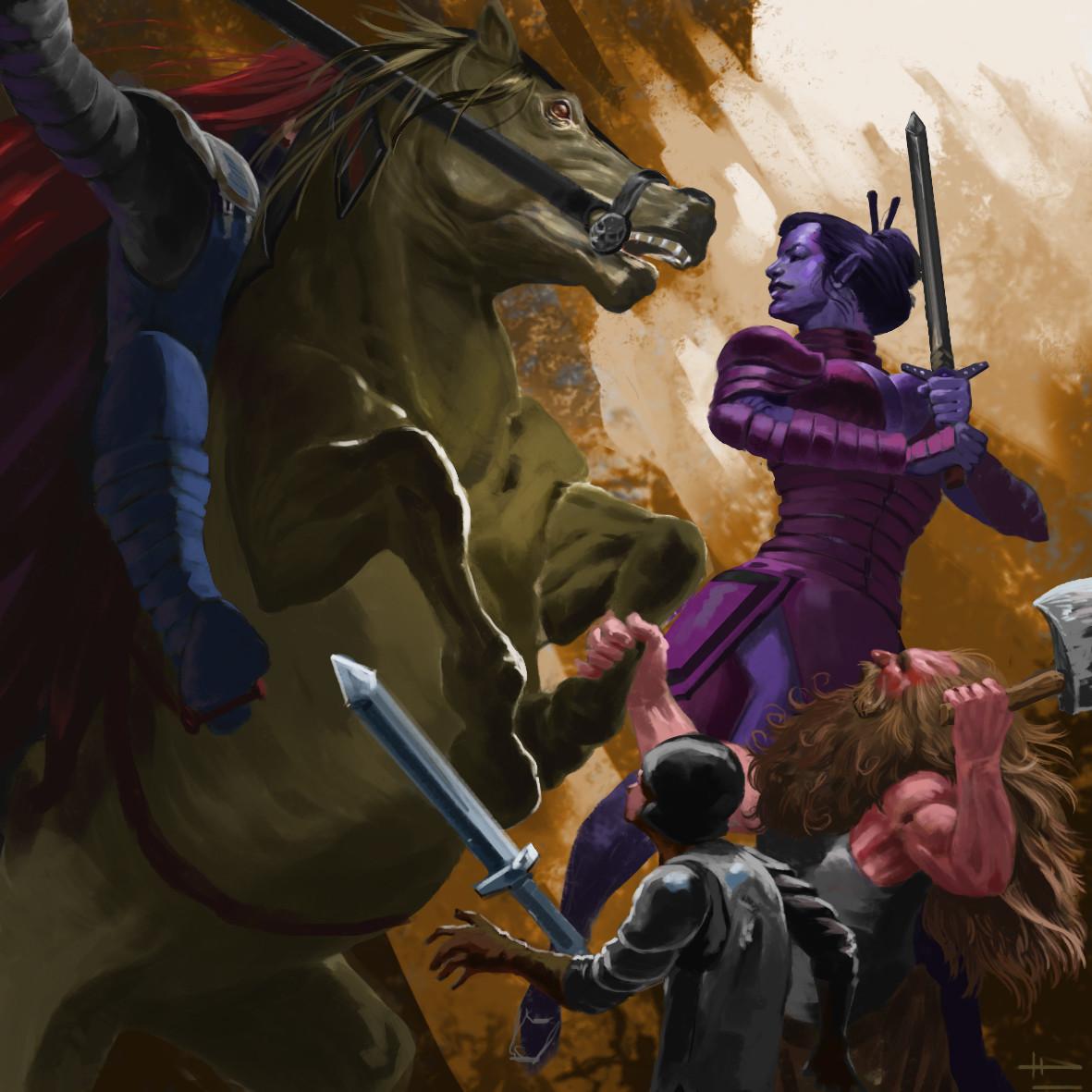 Thiago hellinger 7 horse e woman