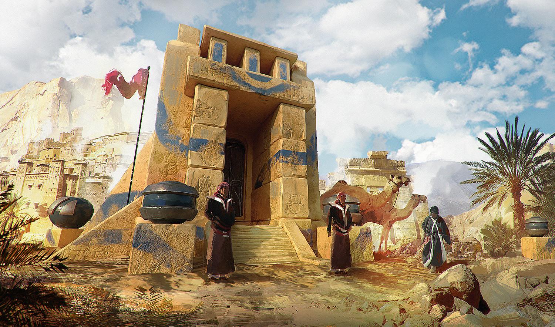 Environment Concept Art 3D | Desert