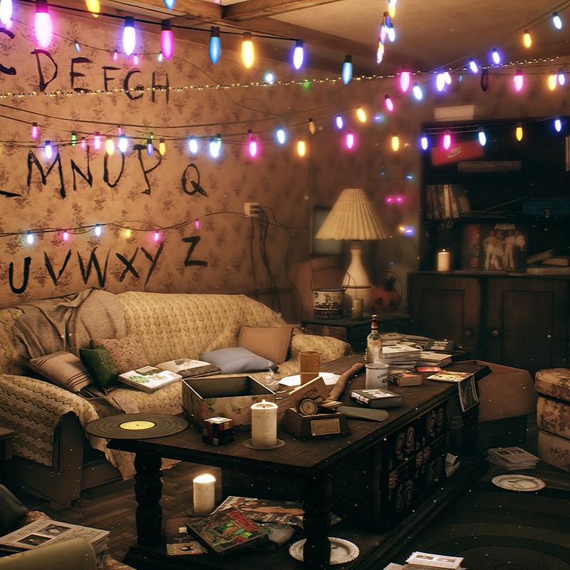 Stranger Things - The Byers Residence
