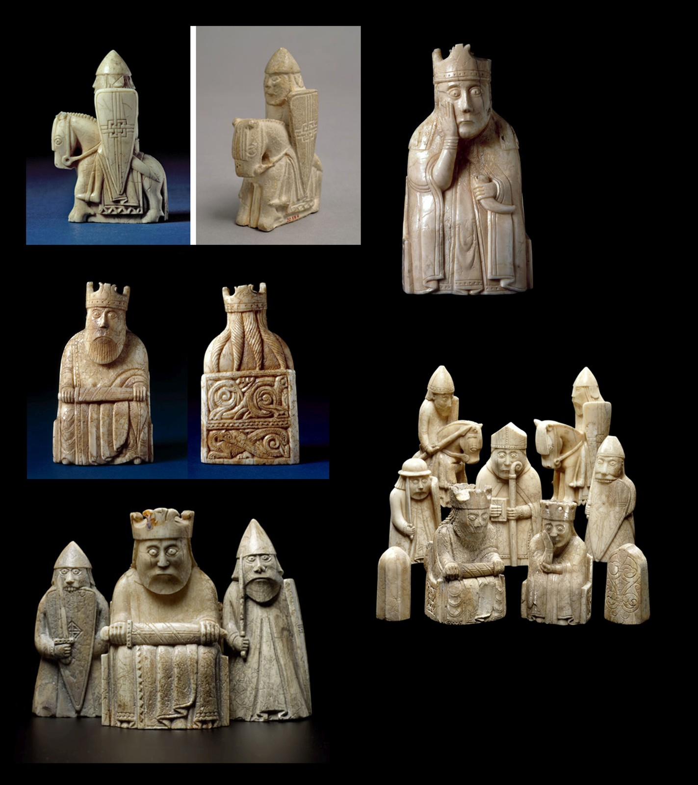 Our inspiration came from the medieval ivory pieces.