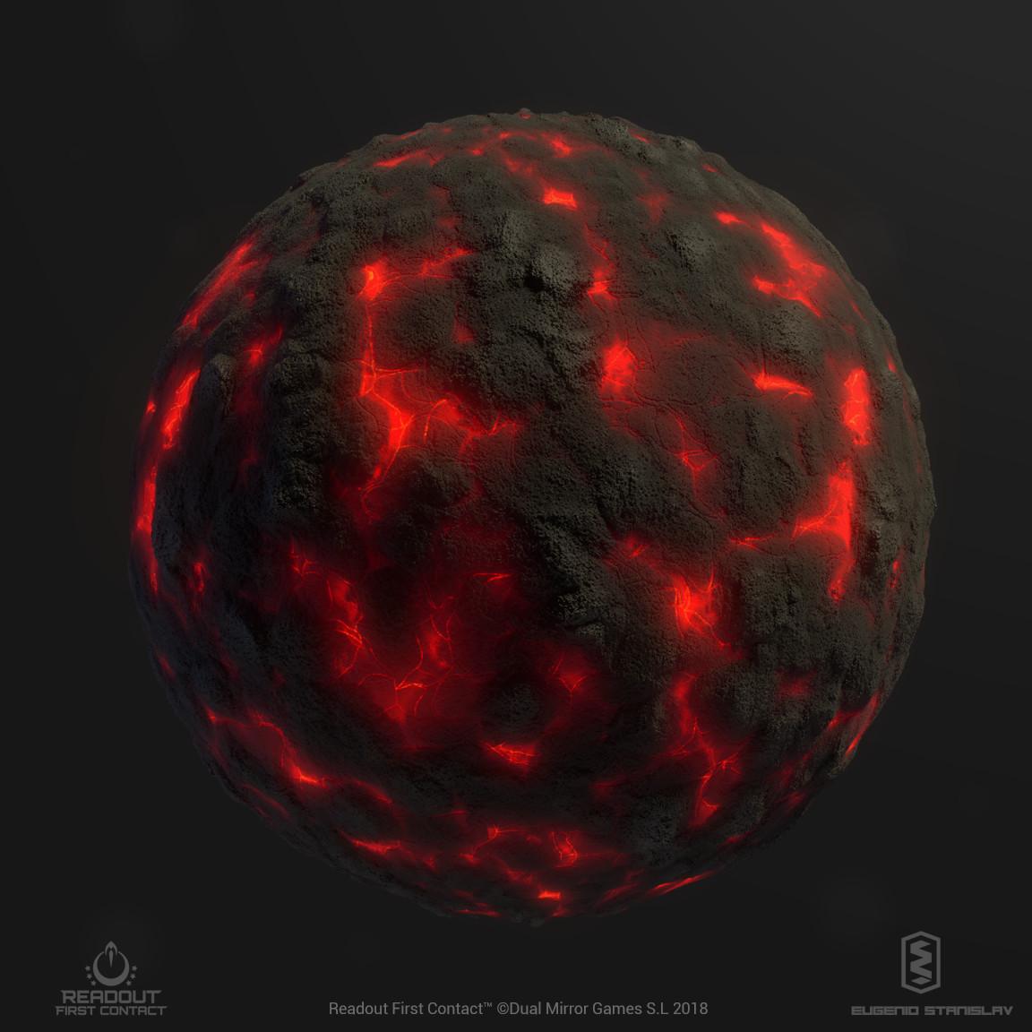 Eugenio stanislav render volcanicrock