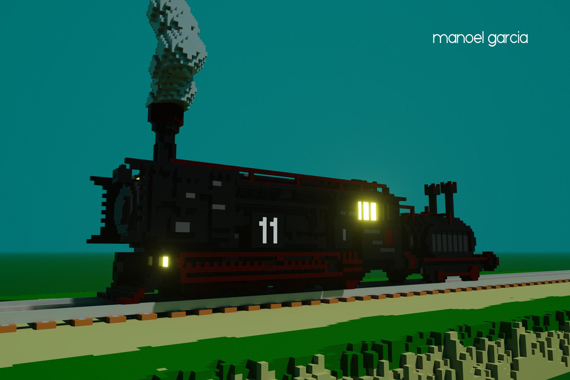 Manoel garcia train