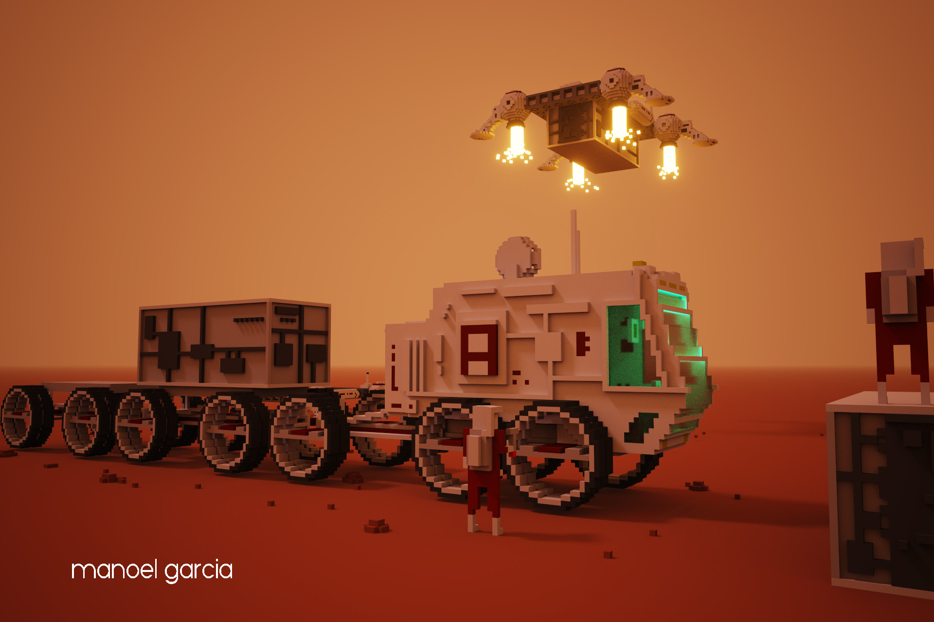 Arriving in Mars