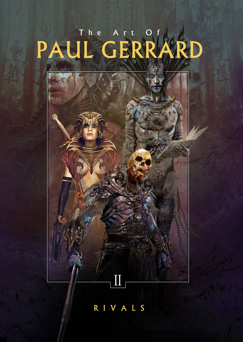 RIVALS: Paul Gerrard's Dark Fantasy Art, Volume II Hardcover