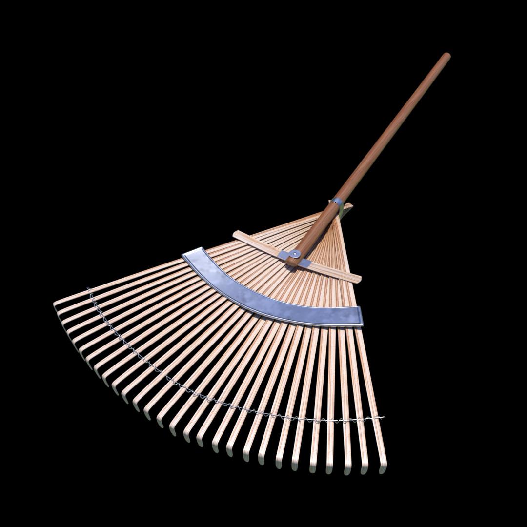 Bamboo Rake