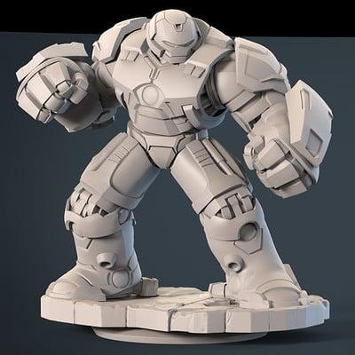 Ian jacobs hulkbuster pose