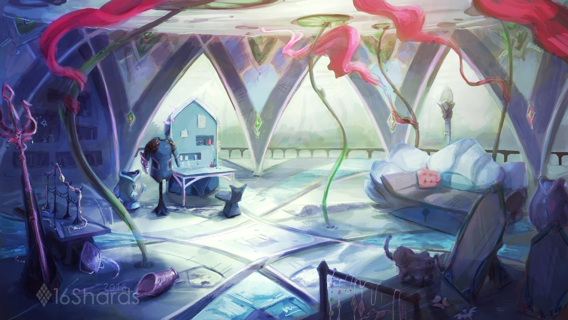 Artstation Mipha S Room Shailyn Farmer