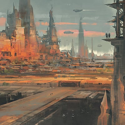 Reza afshar scifi city