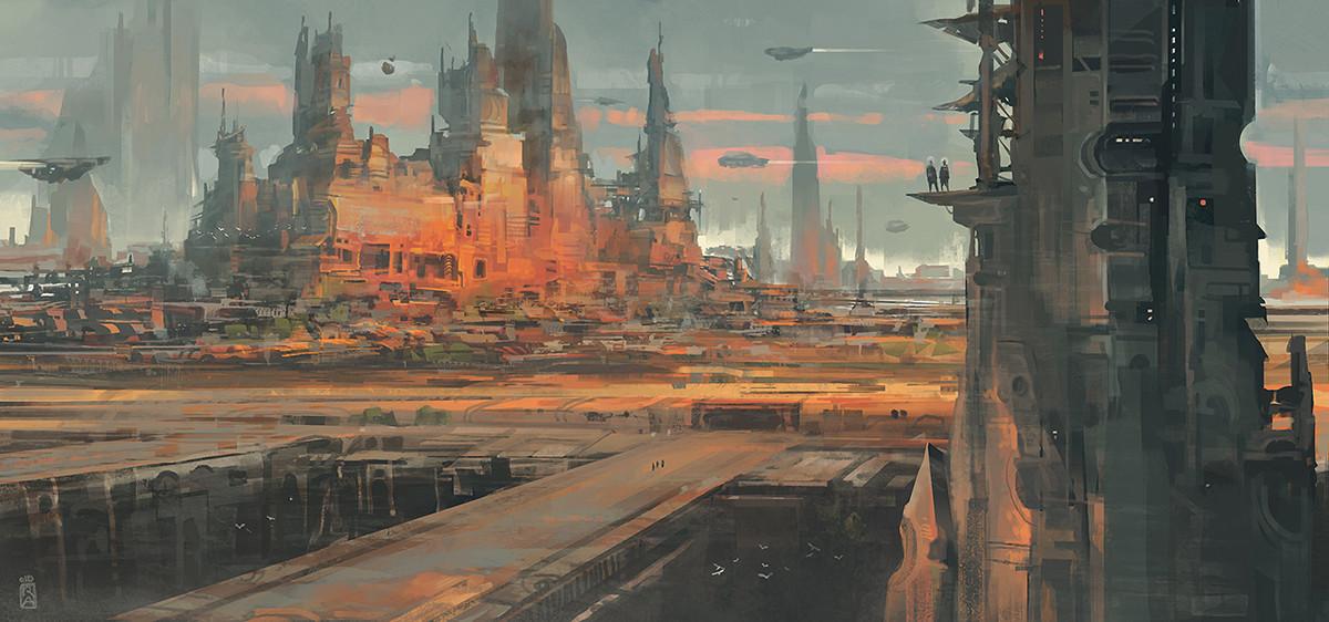 Reza afshar scifi city