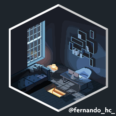 Fernando henrique the room with a hatch