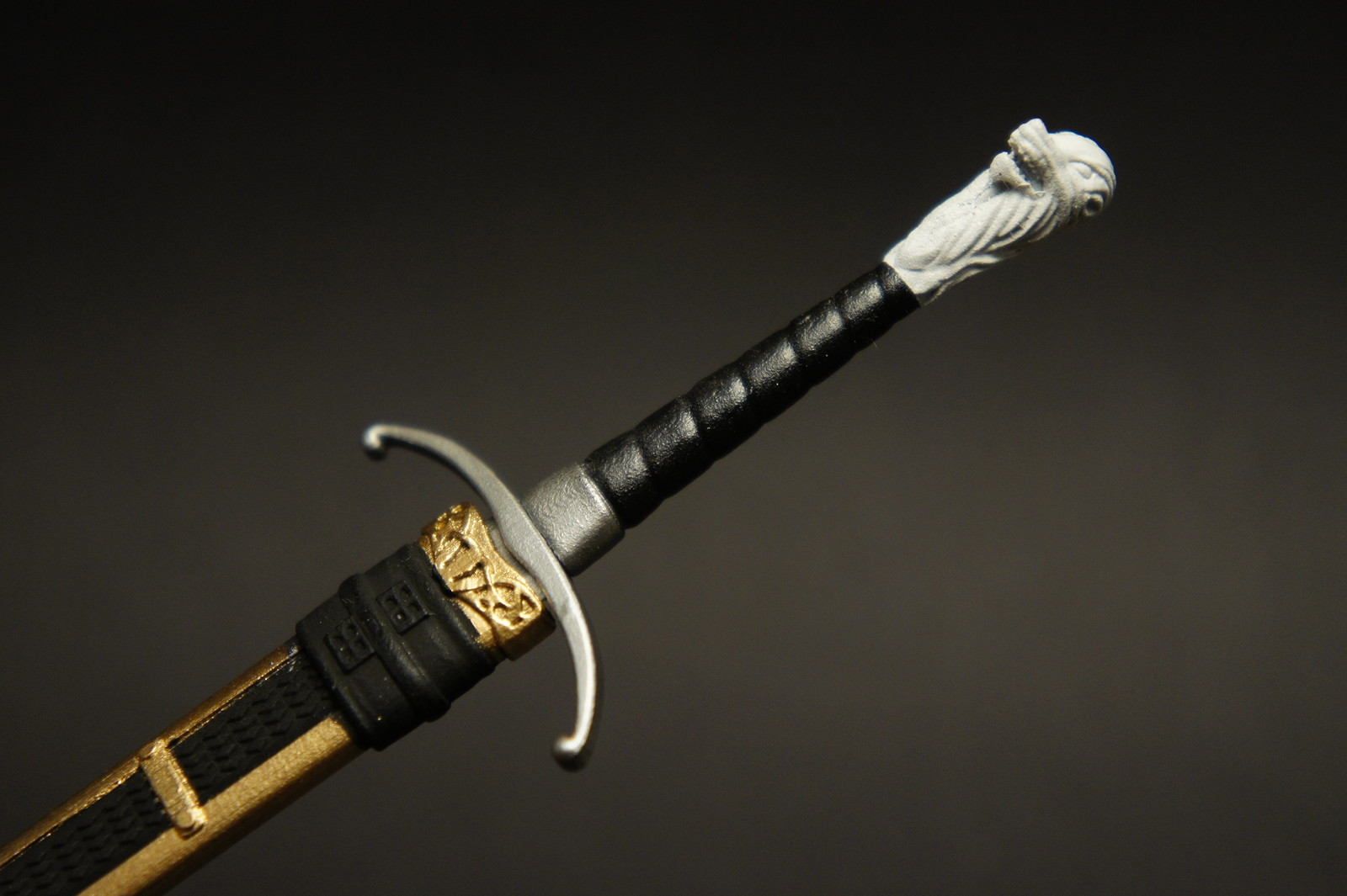 """Longclaw"" 3D Printed Bastard Sword"