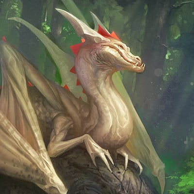 Reiko gross illustration dragon2016 overpaint