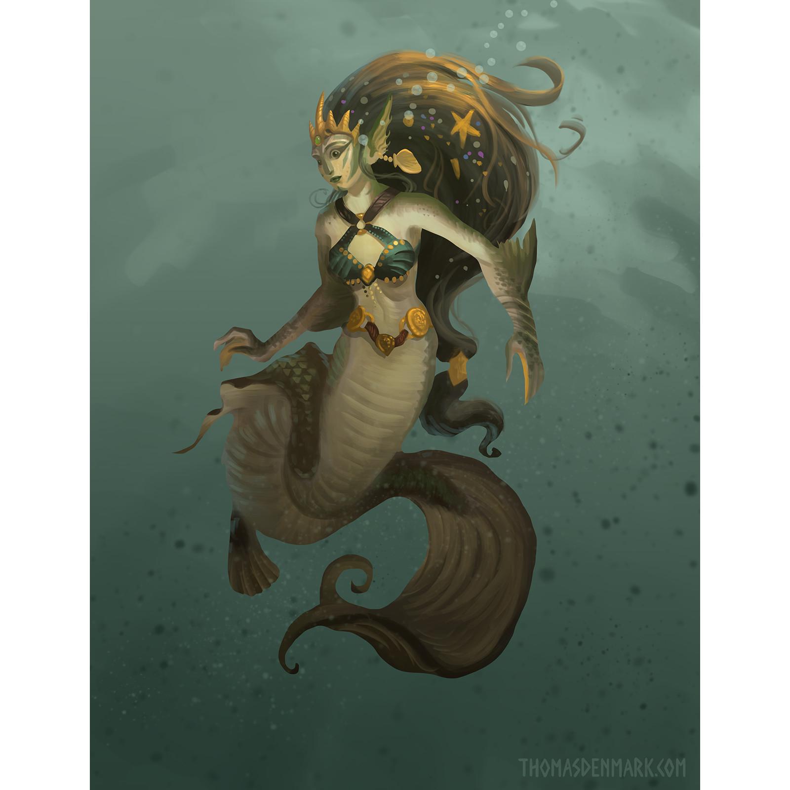 Coalinth mermaid