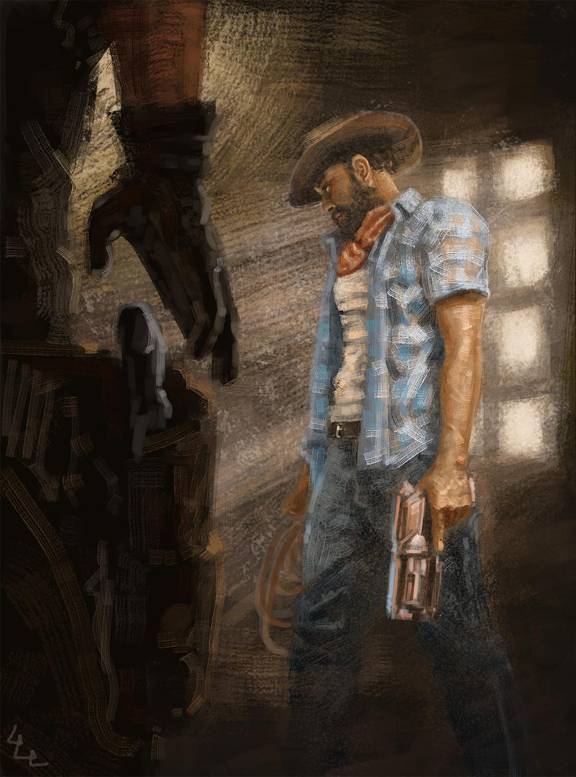 Luis leo lopez cowboy