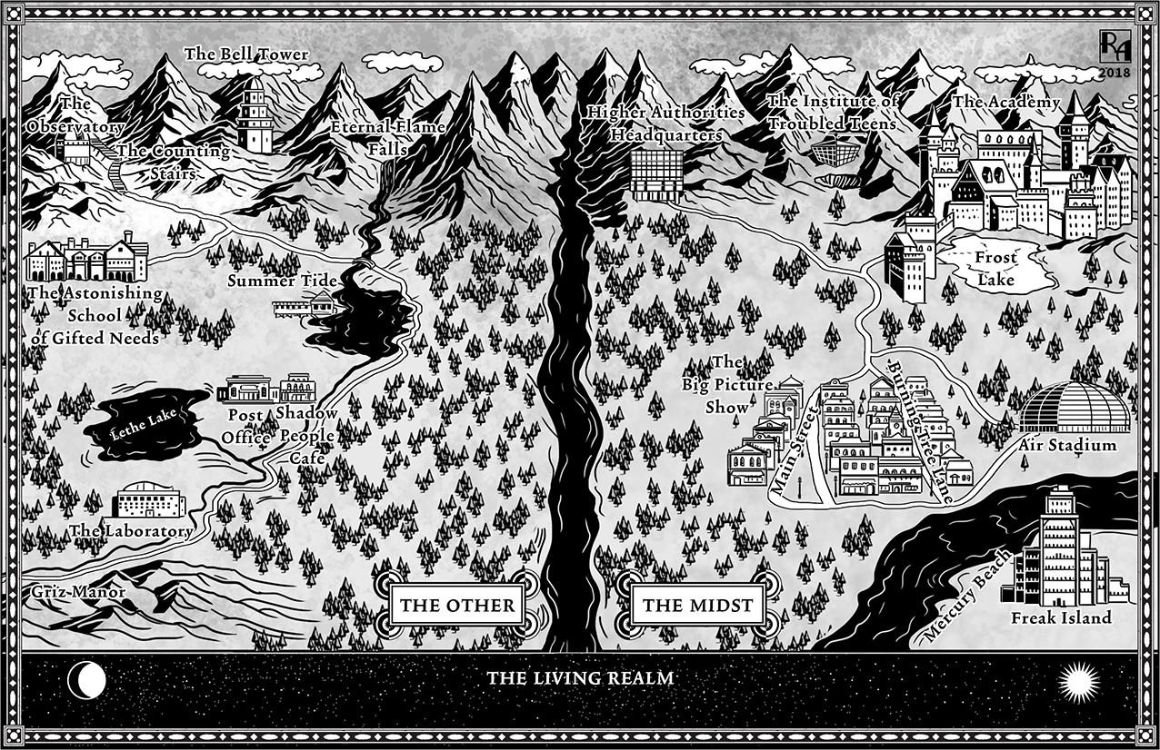 Ascenders Saga Map
