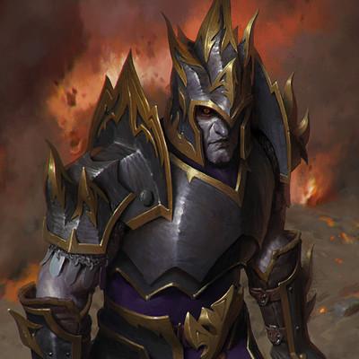 Anton solovianchyk solovianchyk fiery knight