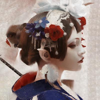 Lius lasahido kimono girl