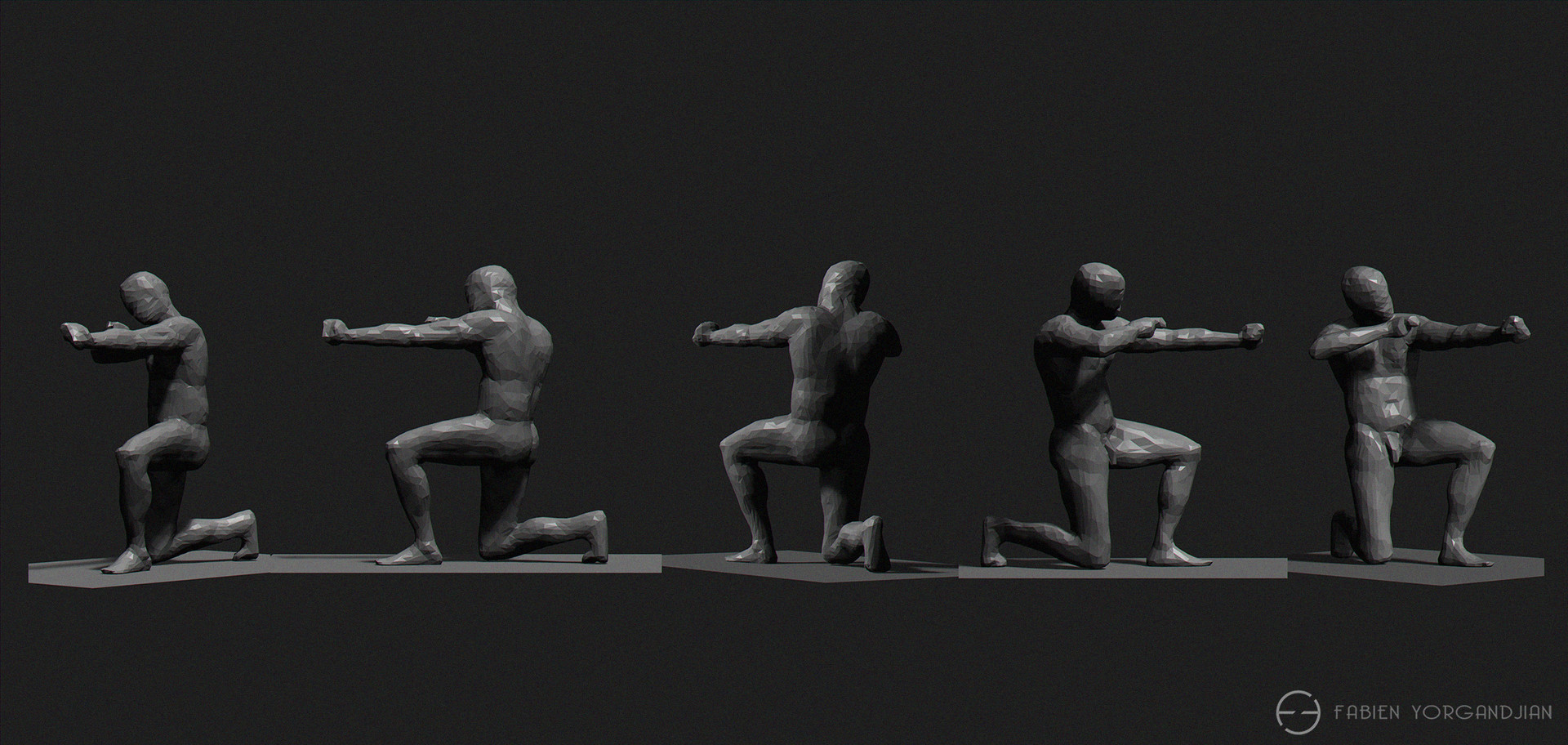 Fabien yorgandjian male quick sculpt
