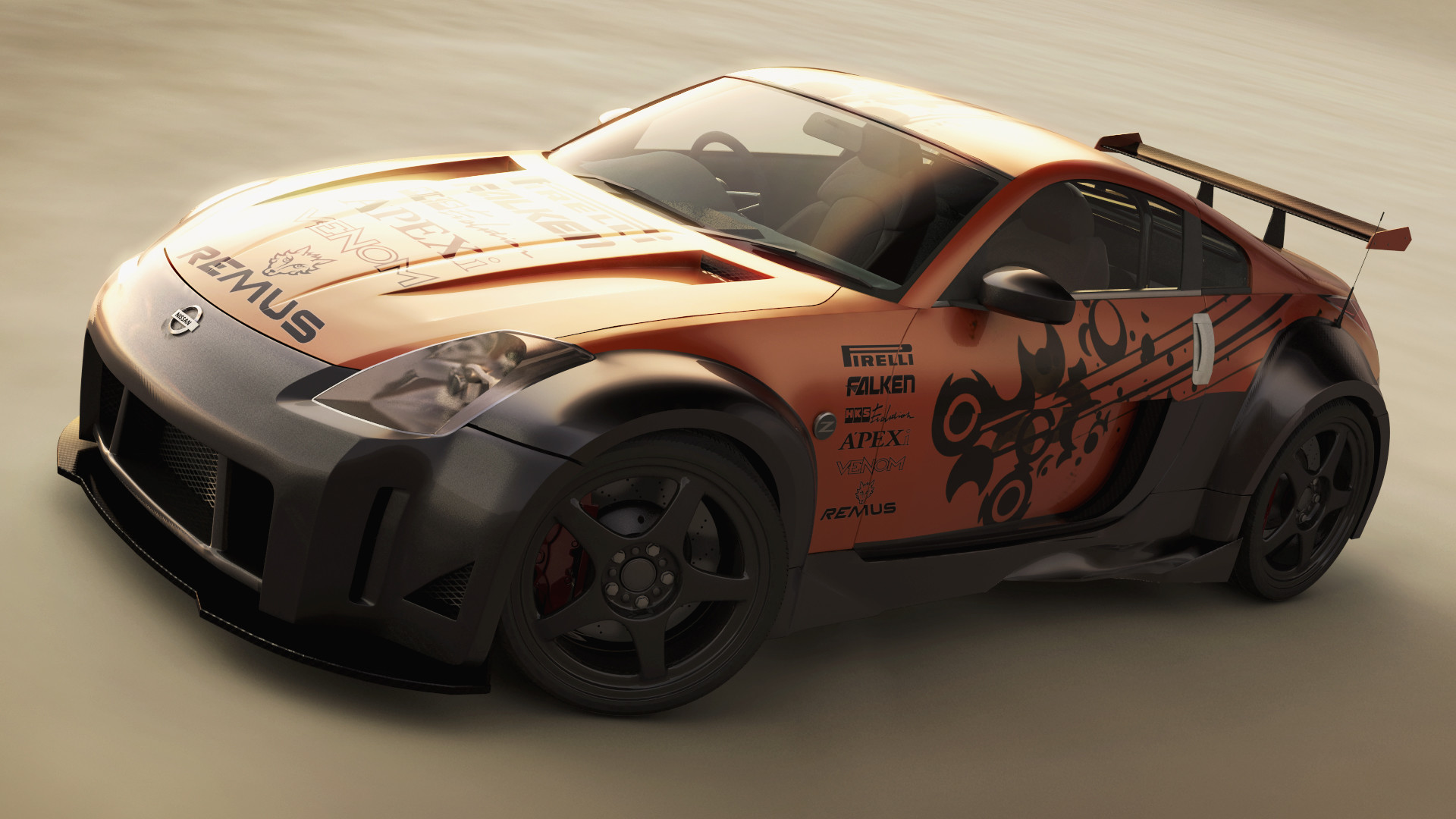 Mark ranson nissan 350z tuned finished by lost artist89