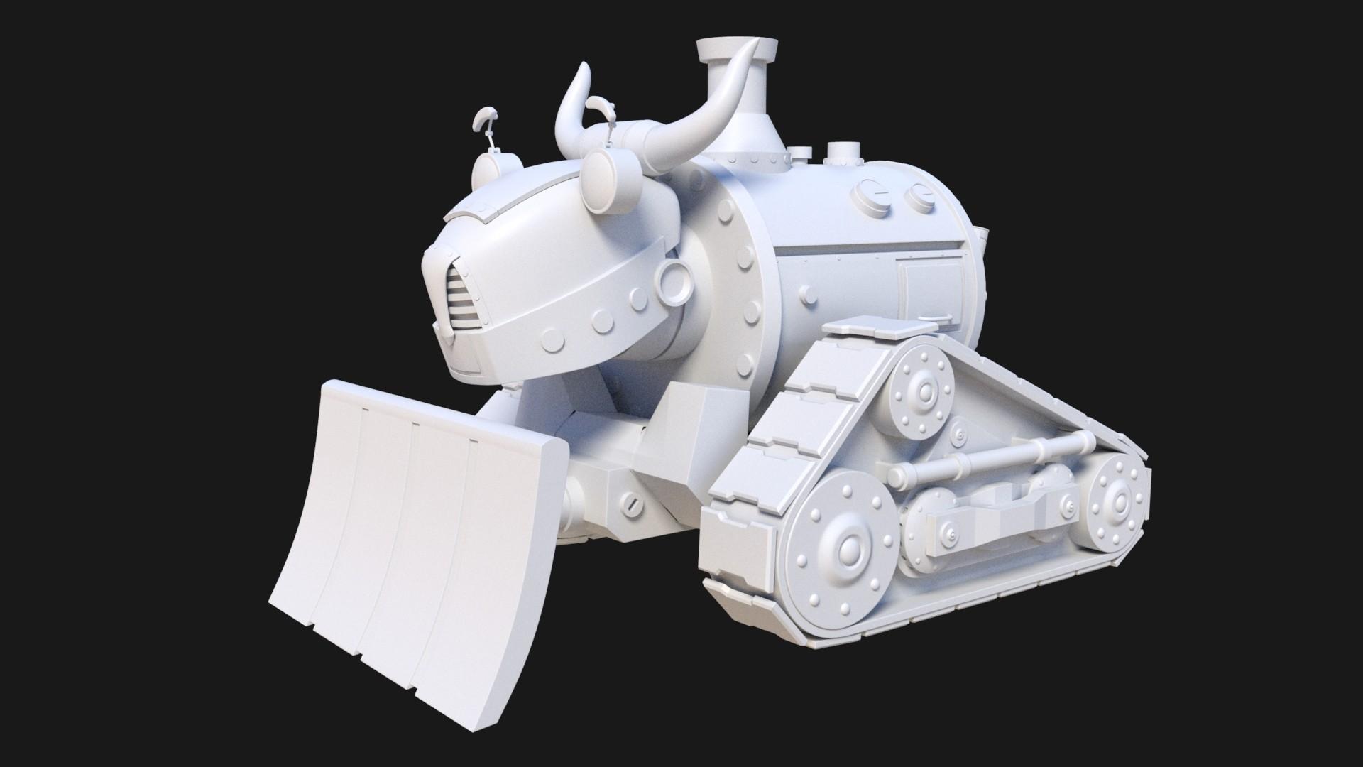 John yau bulldozer 01