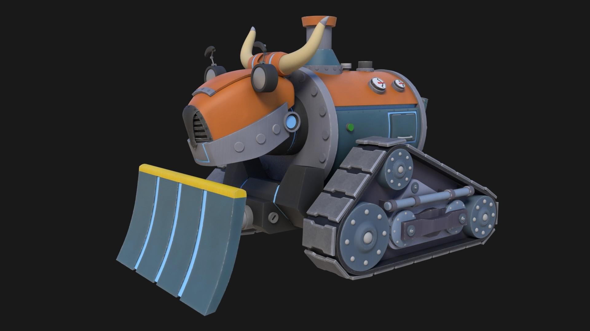 John yau bulldozer 01 colour