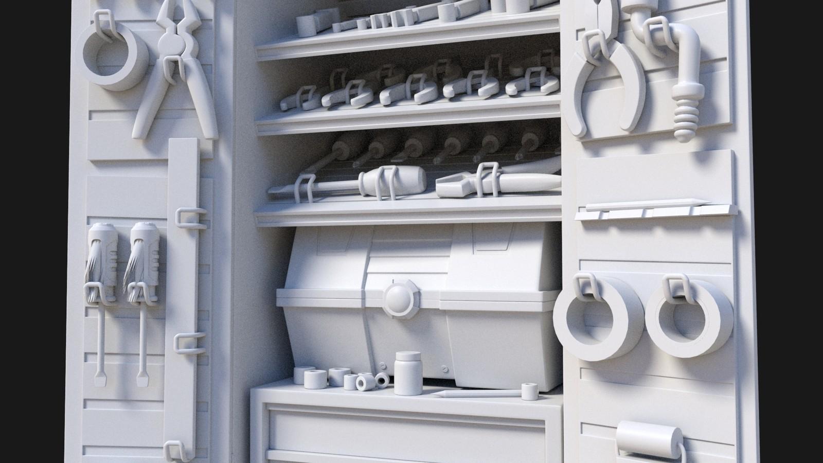 Rusty Rivets - Tool Cabinet