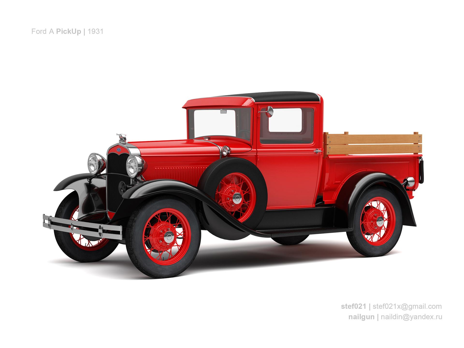 Nail khusnutdinov usa ford a pickup 1931 0