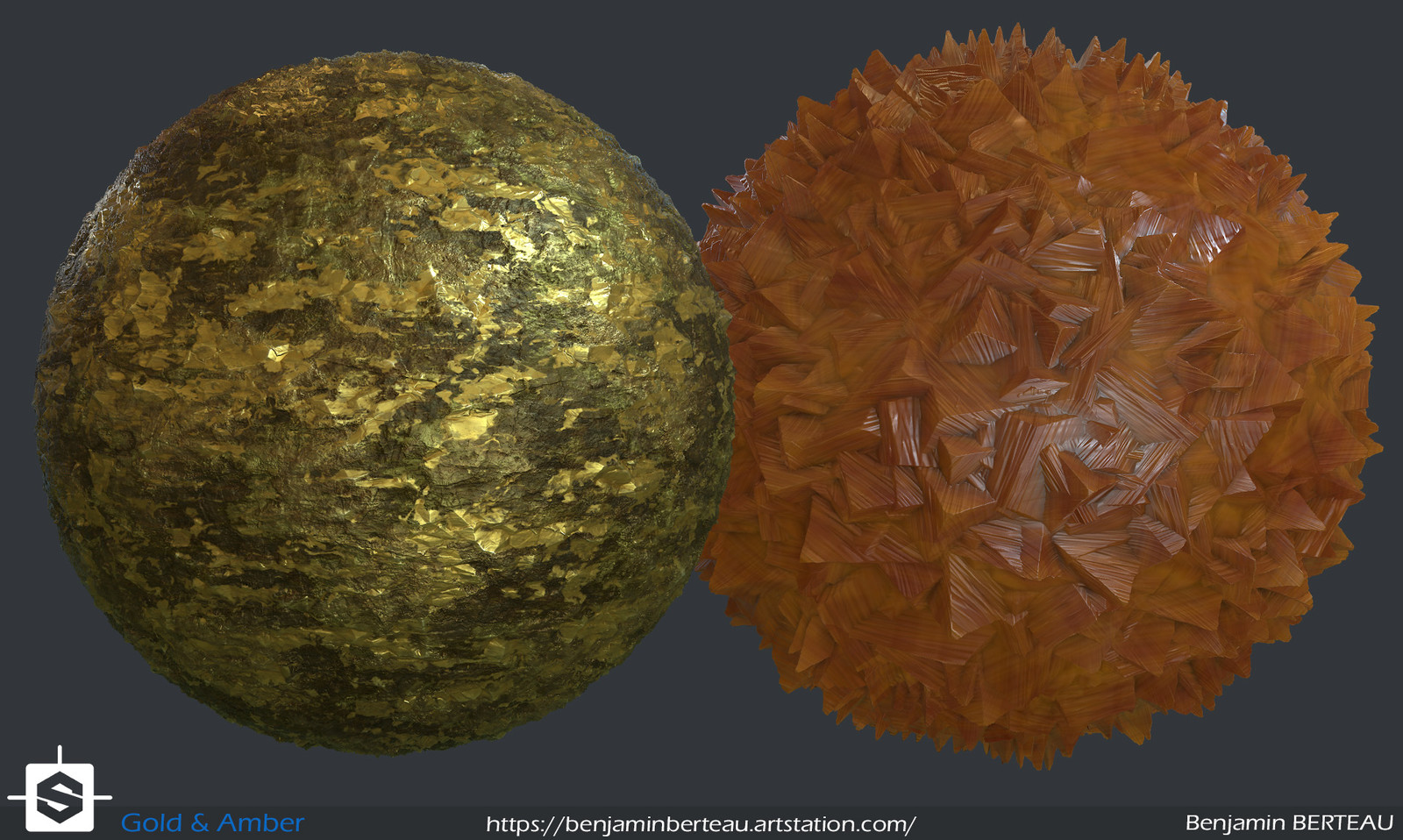 Ore and amber ore