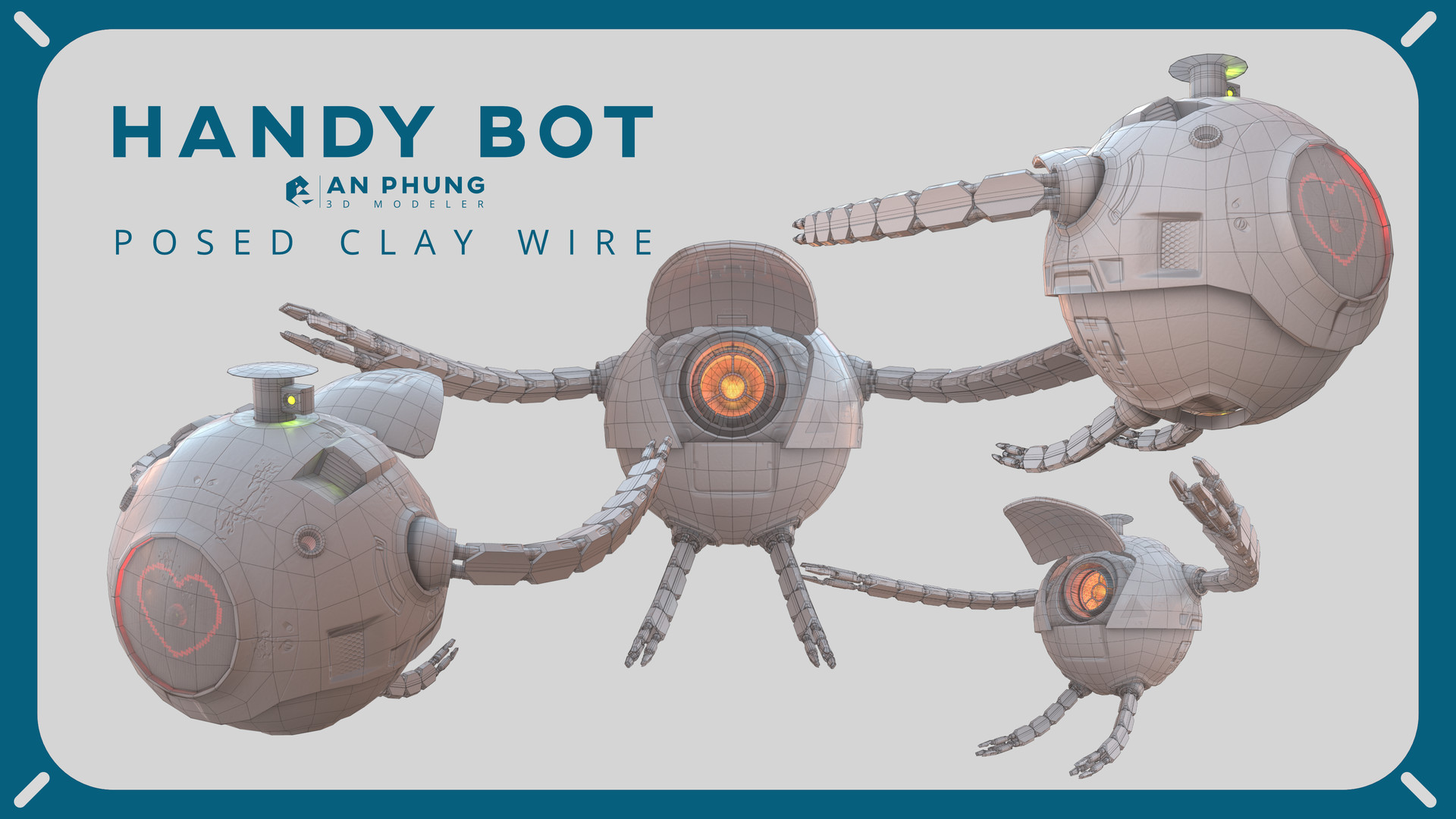 An phung phung handybot final posed clay wire