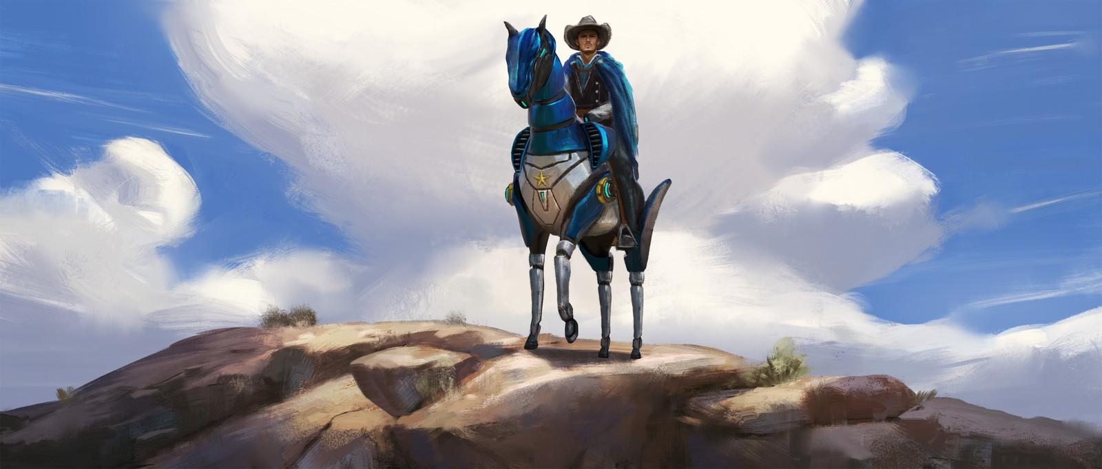 Art Station Wild West Challenge - Keyframe Concepts