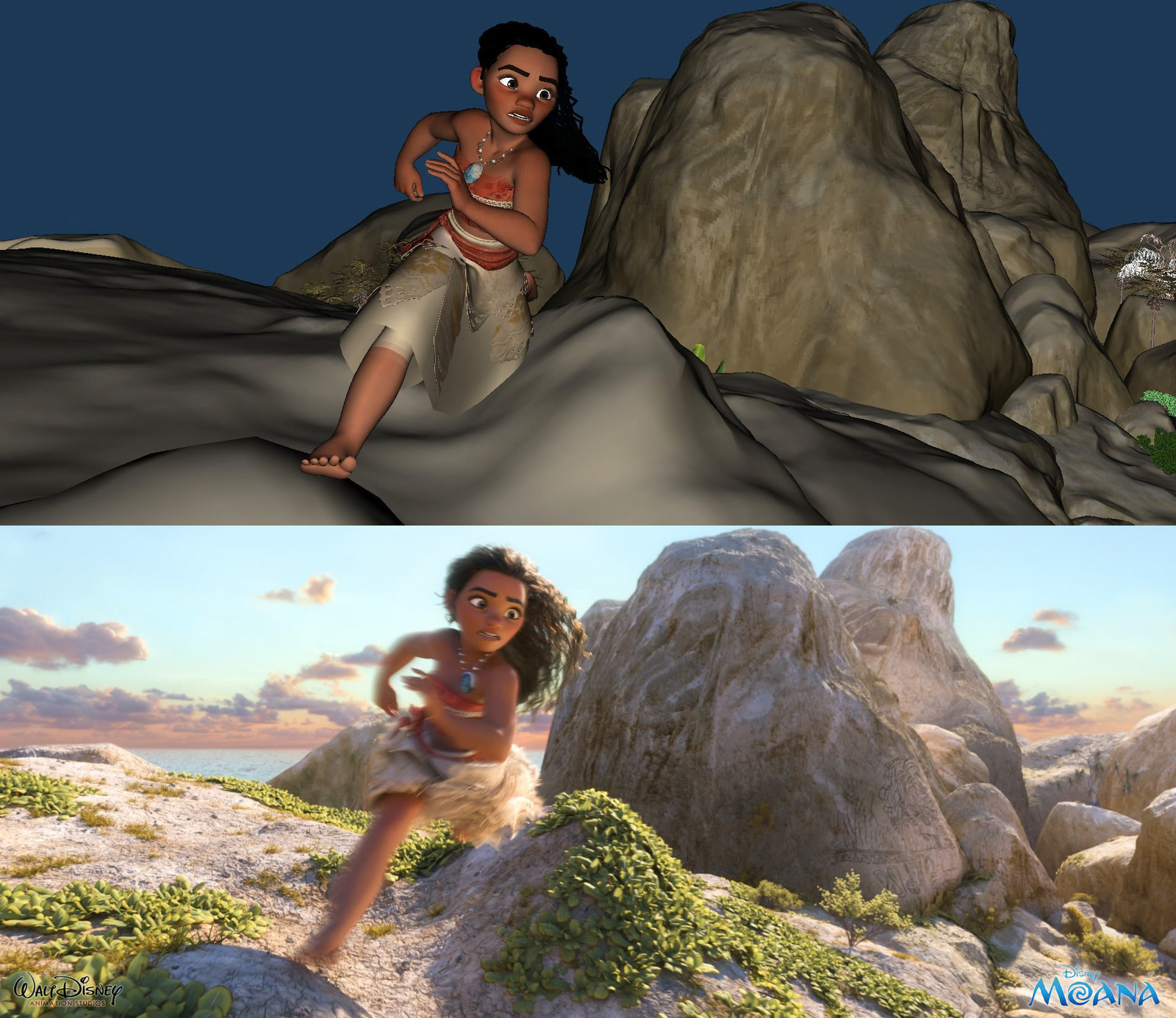 Maya Viewport vs Look Dev Final Frame
