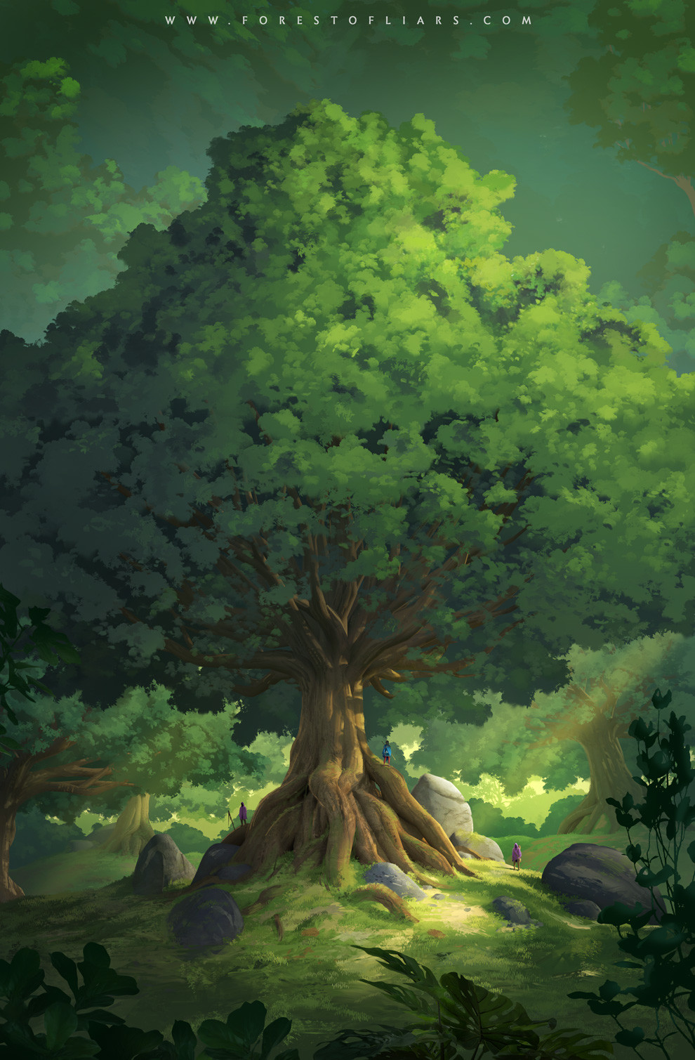Forest of Liars : millennial trees