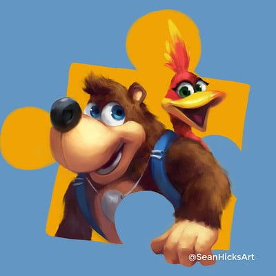 Banjo-Kazooie (Fan Art)