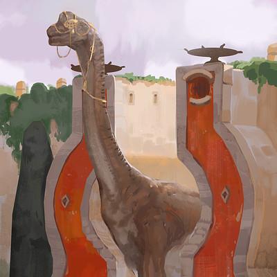 Victorin ripert brachiosaure