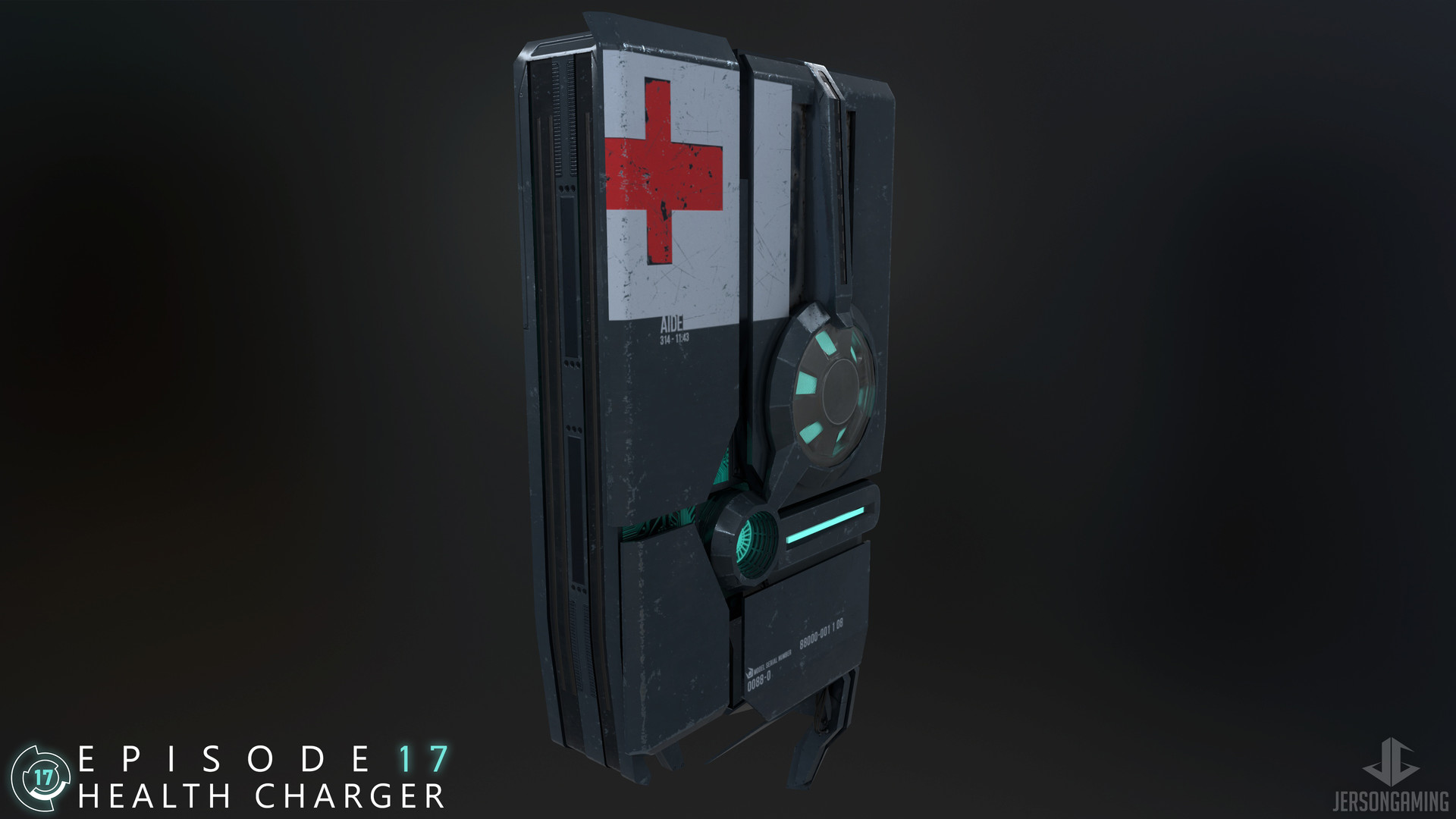 ArtStation - Half-Life 2: Episode 17  Health Charger, Jerson