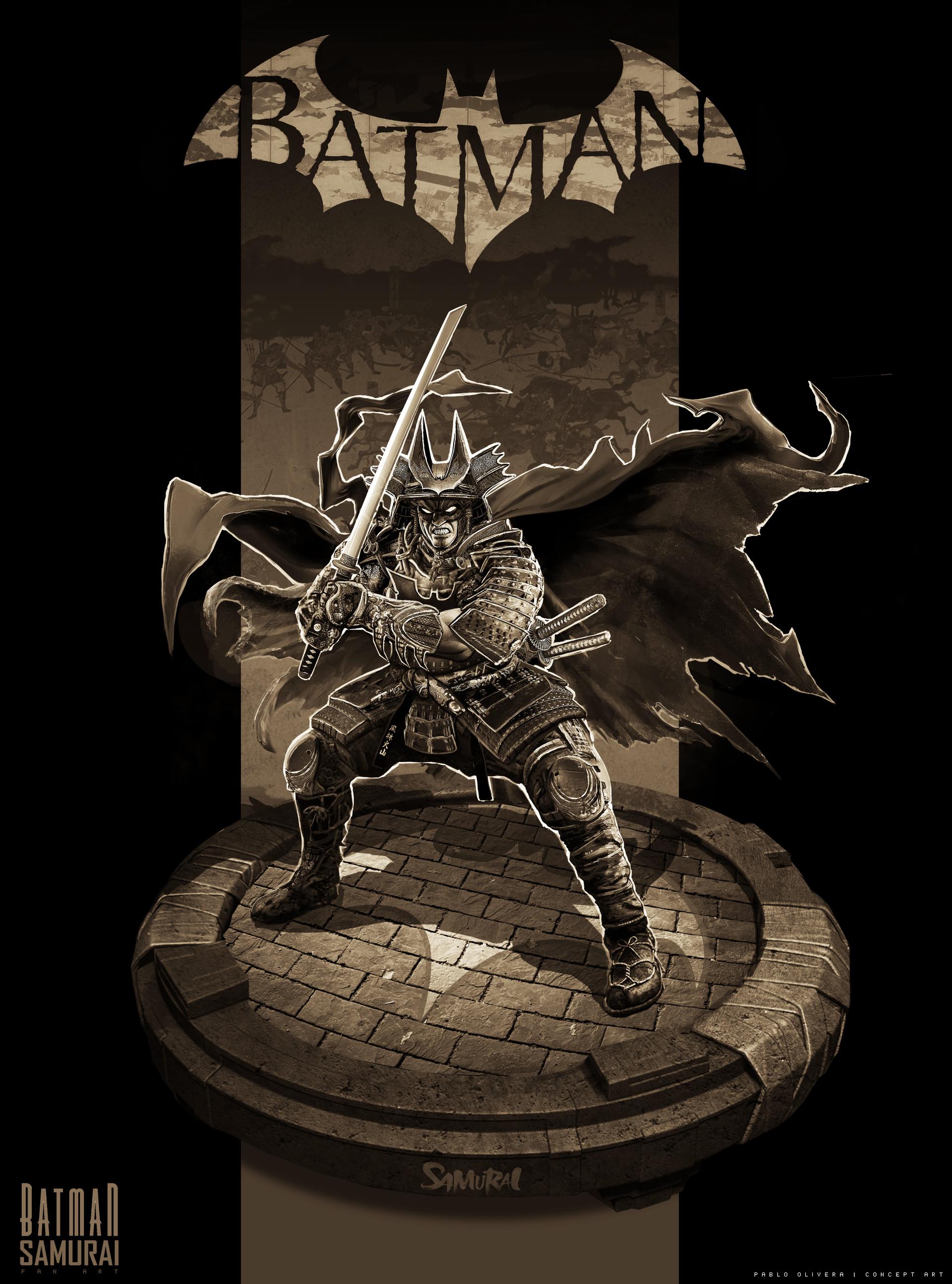 Pablo olivera batman samurai v04 black