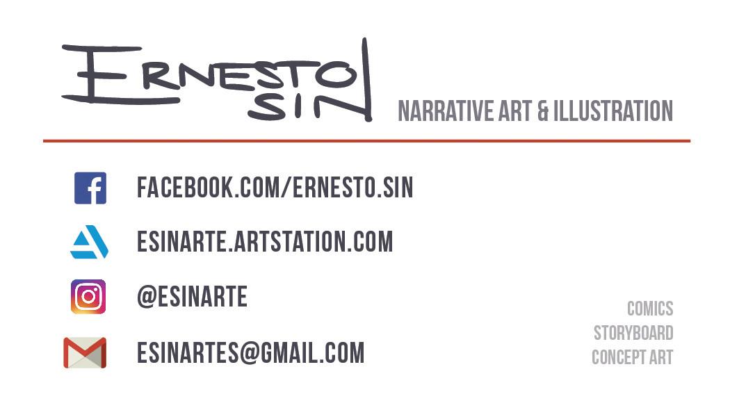 Ernesto sin artstation back